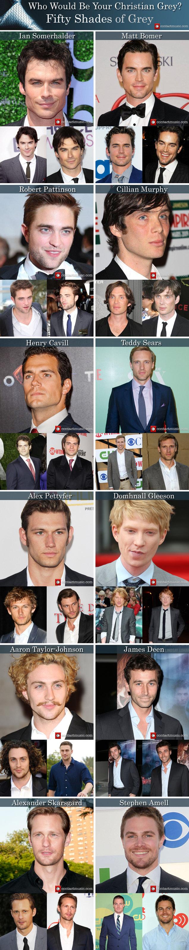 50 Shades Grey Movie Cast Christian Grey