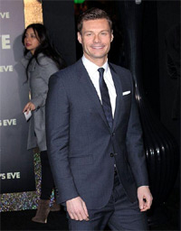 Ryan Seacrest. Los Angeles premiere of 'New Year's Eve' at Grauman's Chinese Theatre.. Hollywood, California - 05.12.11.