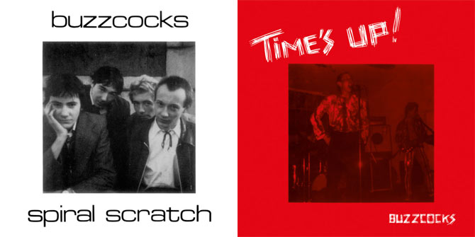 Buzzcocks Spiral Scratch and Time's Up! (Re-Releases) Album Review