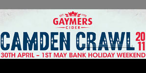 Camden Crawl, Saturday 30th April & Sunday 1st May 2011 Live Review Live Review