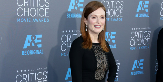 Critics' Choice Movie Awards Julianne Moore