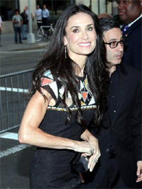 Demi Moore. Lifetime's Screening of five at Skylight Studios . New York City, USA - 26.09.11