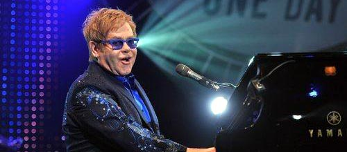 It's congratulations to Sir Elton John and David Furnish this week