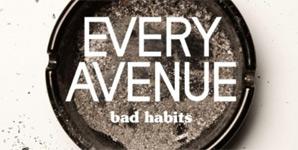 Every Avenue Bad Habits Album