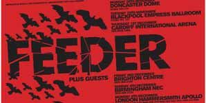 Feeder - Goldie Looking Chain, Empress Ballroom, Blackpool Live Review