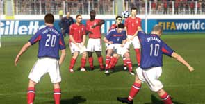 FIFA 06: Road to FIFA World Cup, Review Xbox 360, EA Sports Game Review