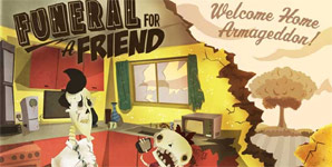 Funeral For A Friend Welcome Home Armageddon Album