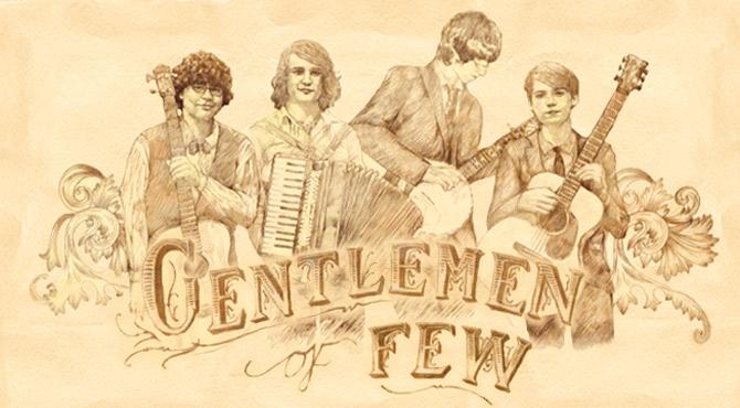 Gentlemen Of Few - Leas Cliff Hall, Folkestone - 4th July 2015 Live Review