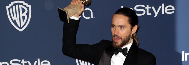 Jared Leto Golden Globes 2014