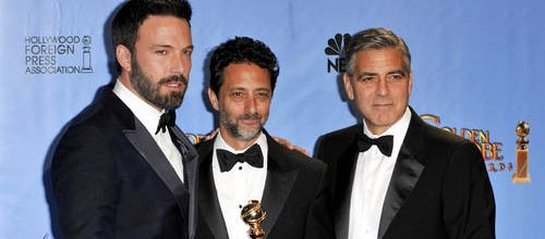 Ben Affleck won Best Director at the Golden Globes on Sunday for Argo