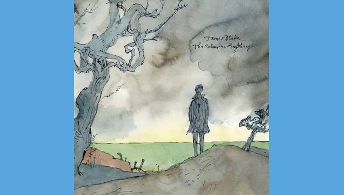 James Blake The Colour In Anything Album