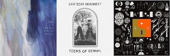 John K Samson, Car Seat Headrest and Bon Iver