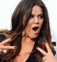 Khloe Kardashian 2012 'E' Upfront Presentation Arrivals