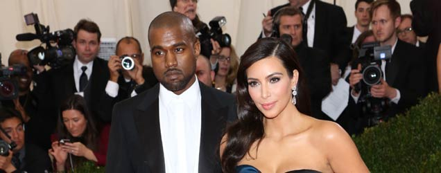 Kim and Kanye Wed