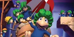 Lemmings, Eye Toy enhanced, Review PS2 Game Review