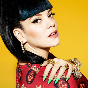 Lily Allen - URL Badman Single Review
