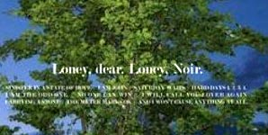 Loney Dear - Loney, Noir