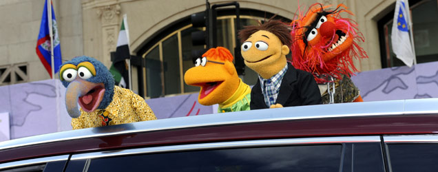 Muppets Most Wanted's world premiere