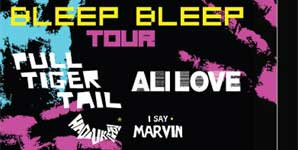 Hadouken! - Myspace Bleep Bleep Tour - Hadouken!, Ali Love, Pull Tiger Tail, Leeds Cockpit Live Review