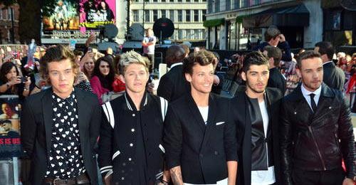 One Direction Movie Premiere