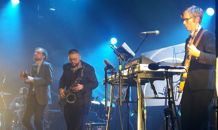 Public Service Broadcasting - The Hall By The Sea, Dreamland, Margate 8.4.2018 Live Review