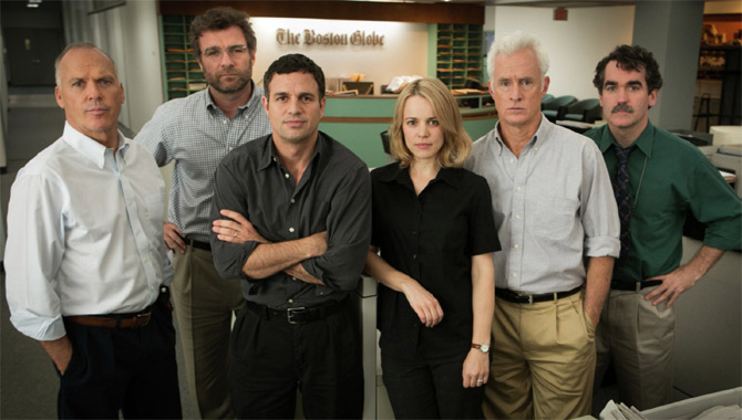 Rich Cline's best film of 2015 - Spotlight