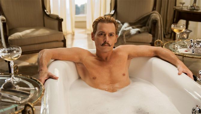 Rich Cline's worst film of 2015 Mortdecai