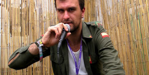 Reverend and the Makers - Interview Glastonbury Festival 2009
