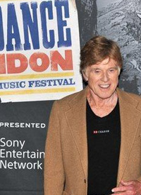 Robert Redford at the first Sundance London