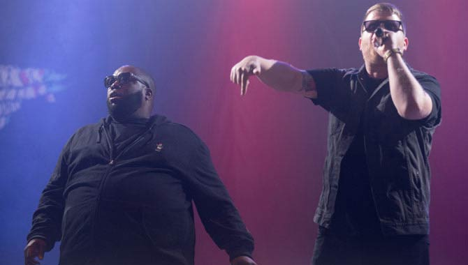 Run The Jewels - Albert Hall, Manchester-31.03.2017 Live Review