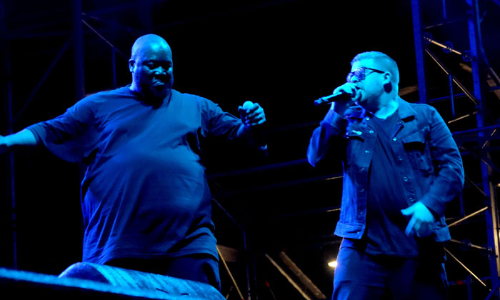 Run The Jewels perform at Field Day 2017