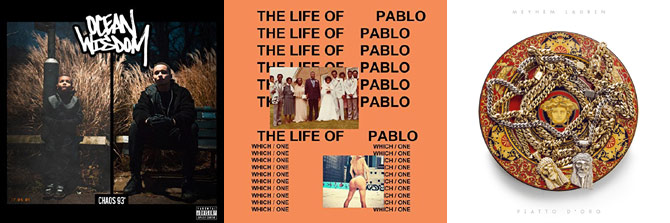 Ocean Wisdom, Kanye West and Meyhem Lauren