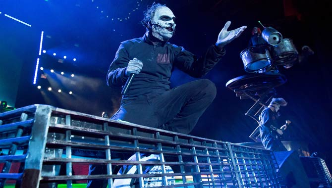 Slipknot - Alexandra Palace 9 February 2016 Live Review