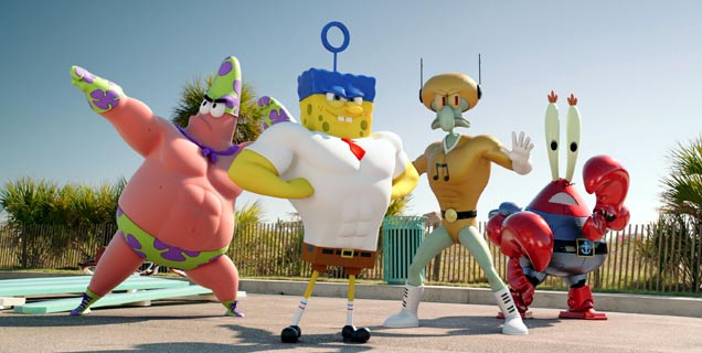 The SpongeBob Movie: Sponge Out of Water,