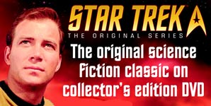 Star Trek DVD, Relive the classic adventures with this incredible DVD and Magazine series Clip