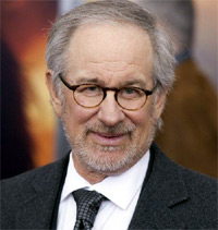 Steven Spielberg. World Premiere of 'War Horse' at Avery Fisher Hall in the Lincoln Center for The Performing Arts . New York City, USA - 04.12.11