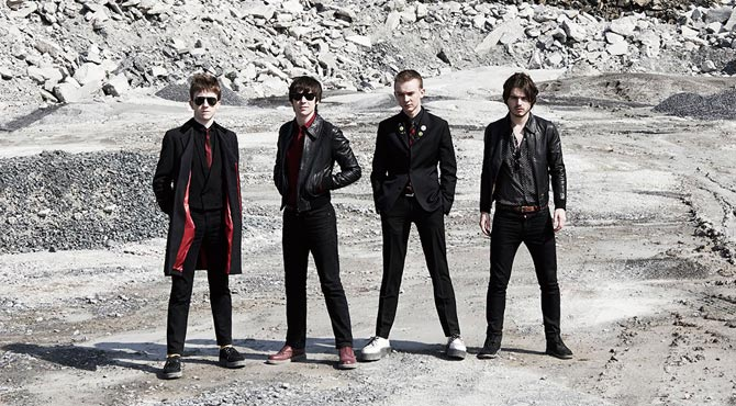 An Interview with The Strypes at Übel & Gafärlich in Hamburg