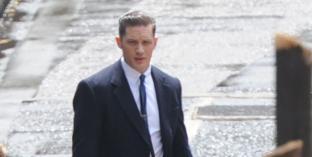 Tom Hardy Filming