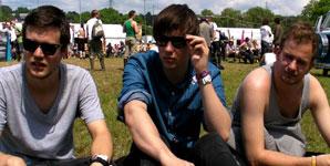 White Lies - Glastonbury Festival 2009