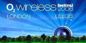 O2 Wireless Festival 2006, News, line-up Not Categorized