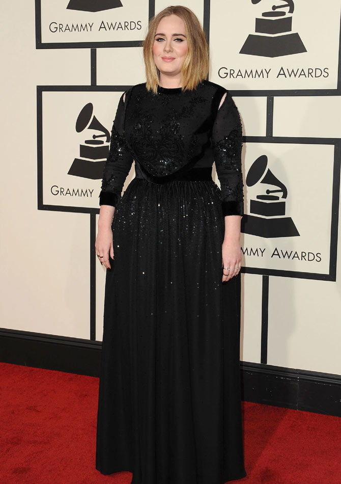 Adele  at the 58th Grammy Awards  held at the Staples Center  Los Angeles  February 15th 2016