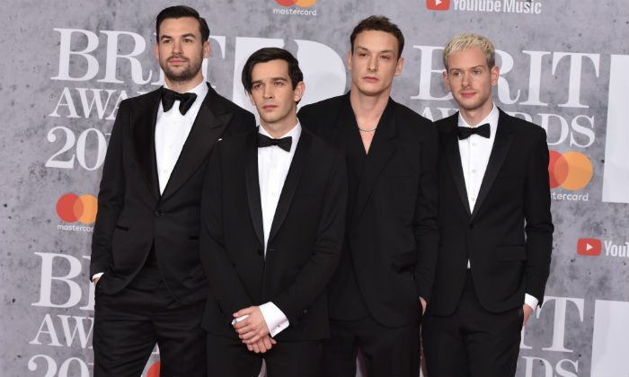 The 1975 at the BRIT Awards 2019