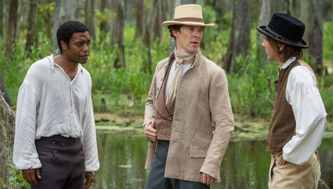 Chiwetel Ejiofor stars with Benedict on 12 Years A Slave