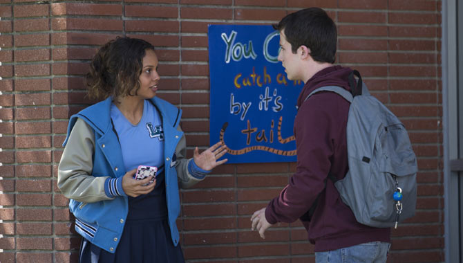Alisha Boe and Dylan Minnette are amongst the ensemble cast of '13 Reasons Why'
