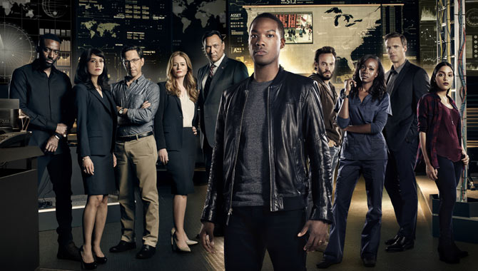 The cast of the now-cancelled FOX series '24: Legacy' / Credit: Michael Becker