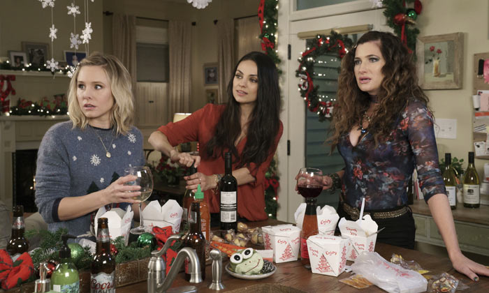 Kristen Bell, Mila Kunis and Kathryn Hahn in 'A Bad Moms Christmas'