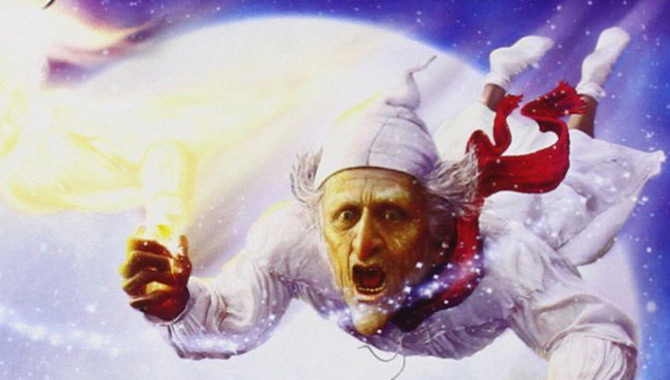 A Christmas Carol starring Jim Carrey