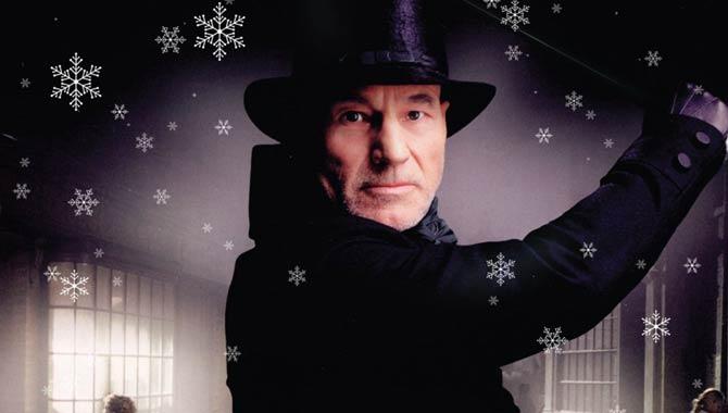 A Christmas Carol starring Patrick Stewart