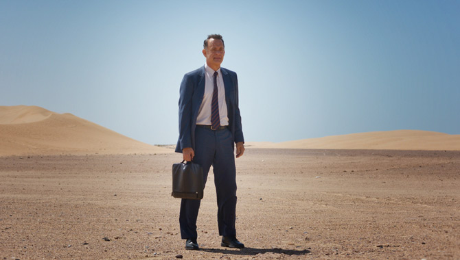 Tom Hanks plays a salesman in A Hologram For The King