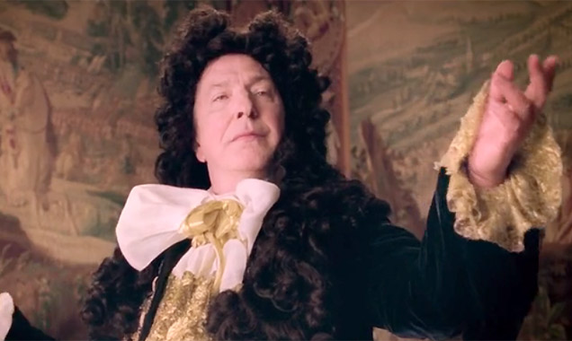 Alan Rickman in 'A Little Chaos'